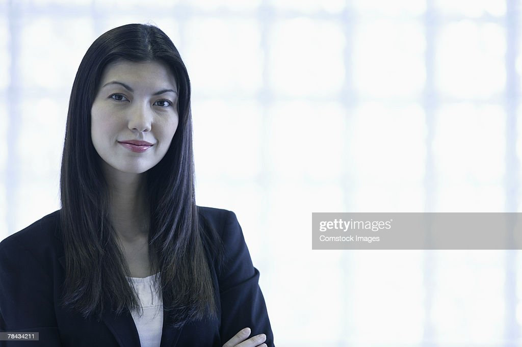 Portrait of businesswoman : Stockfoto