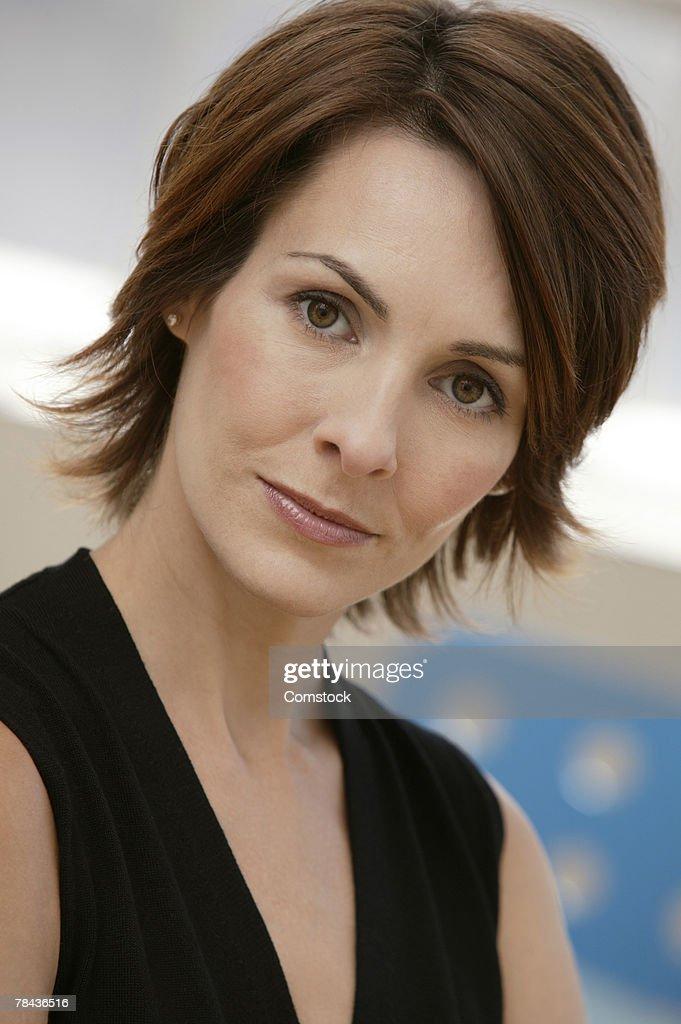 Portrait of businesswoman : Stockfoto