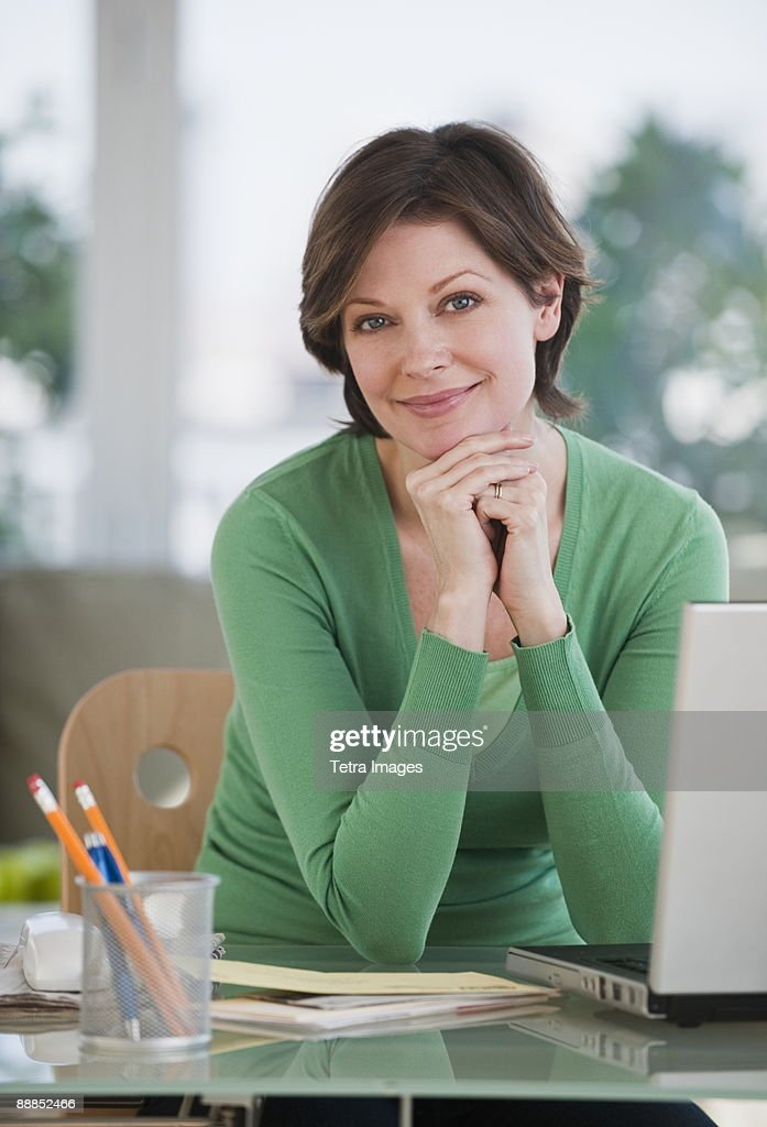 Portrait of businesswoman : Stock Photo