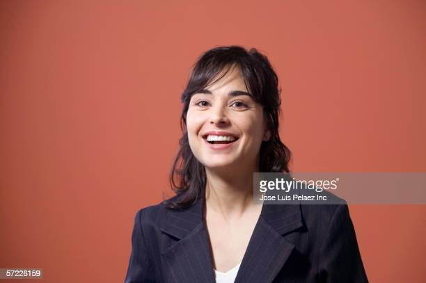portrait of businesswoman smiling - part of a series stock pictures, royalty-free photos & images