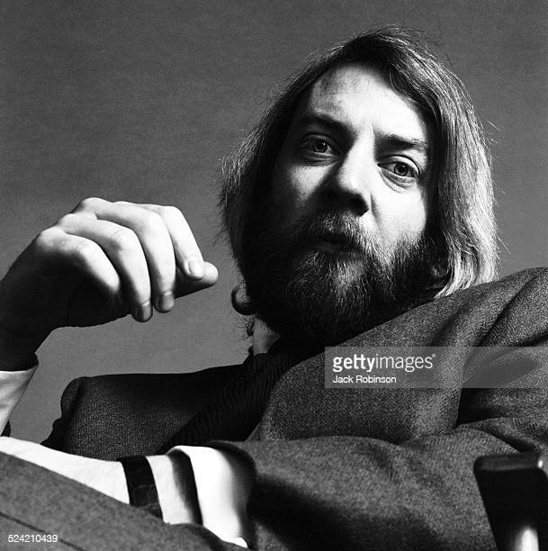 Portrait of Canadian actor Donald Sutherland New York New York January 1970