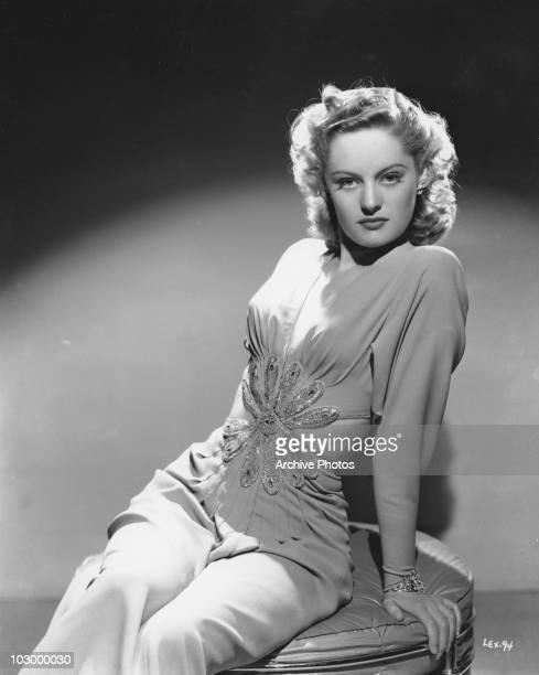 A portrait of Canadian actress Alexis Smith circa 1940's