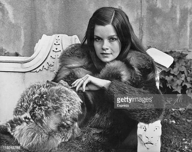 Portrait of Canadian actress Genevieve Bujold on February 21 1970