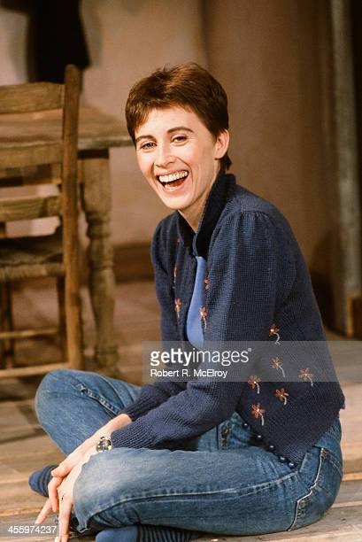 Portrait of Canadian actress Kate Nelligan New York New York 1984
