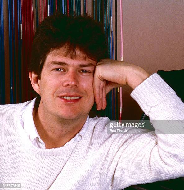Portrait of Canadian musician and songwriter David Foster as he poses at home, Los Angeles, California, January 14, 1986.