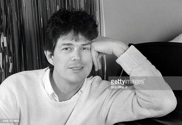 Portrait of Canadian musician and songwriter David Foster as he poses at home Los Angeles California January 14 1986