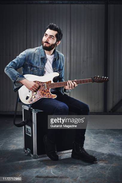 Portrait of Canadian musician Ariel Posen photographed in Bath England on February 21 2019 Posen is best known as a solo artist and a member of rock...