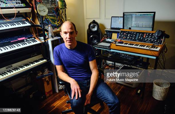 Portrait of Canadian musician Dan Snaith better known by his recording name Caribou photographed at his studio in London on January 7 2020