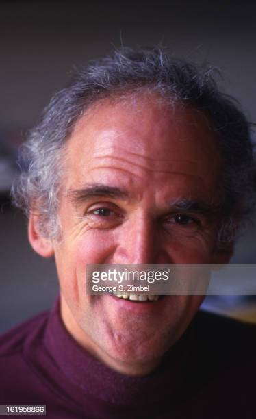 Portrait of Canadian philosopher and educator Charles Taylor Montreal Quebec Canada 1990s