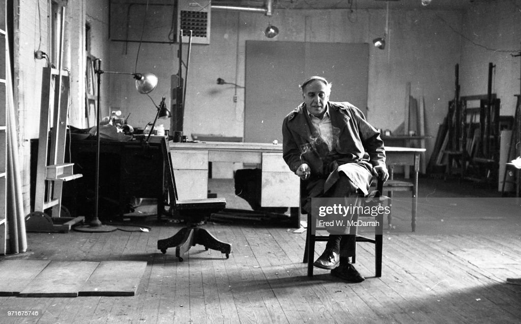 Portrait Of Philip Guston : News Photo
