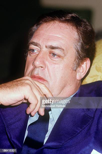 Portrait of Canadianborn American actor Raymond Burr thoughtful 1976