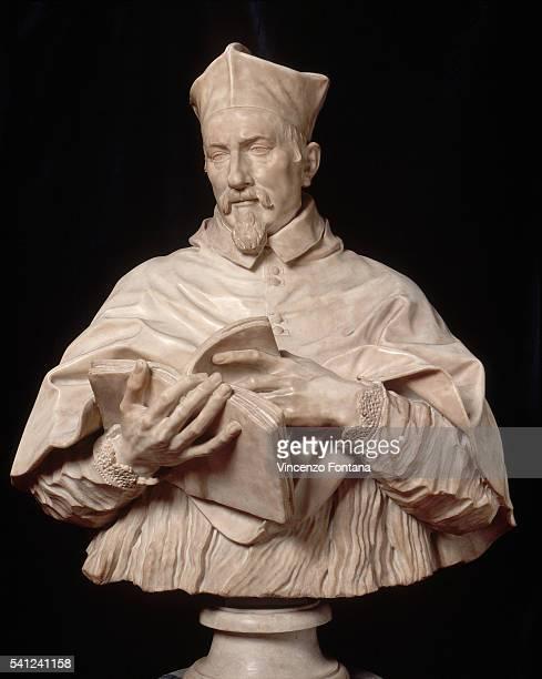Portrait of Cardinal Emilio Zacchia Rondanini by Alessandro Algardi