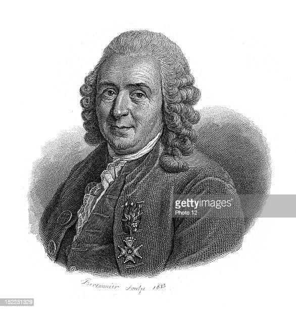Portrait of Carl Linnaeus, who was a swedish naturalist, founder of modern ecology.