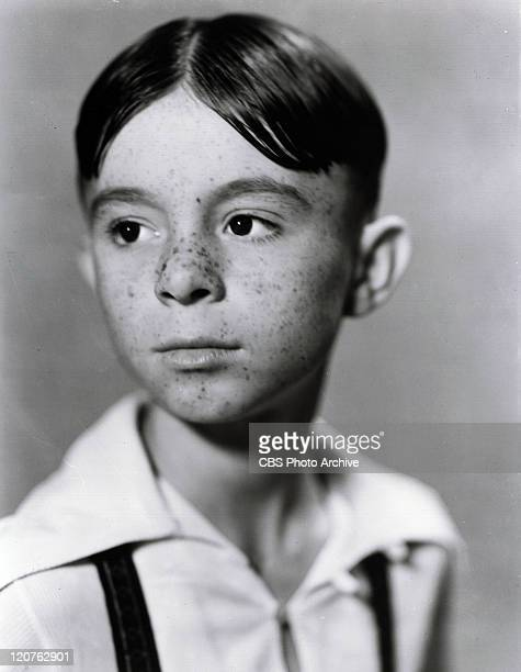 Portrait of Carl Switzer as Alfalfa forThe Little Rascals series originally know as Our Gang Image dated January 1 1936