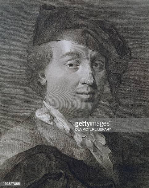 Portrait of Carlo Goldoni Italian playwright Venice Casa Di Carlo Goldoni