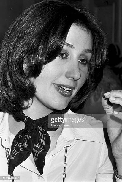 Portrait of Carmen Martinez Bordiu wife of Alfonso of Borbon and granddaughter of Francisco Franco Madrid Spain