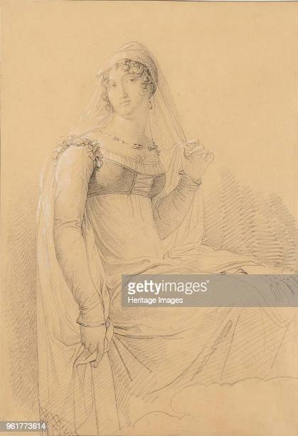 Portrait of Caroline Bonaparte Princesse Française Grand Duchess of Berg and Cleves Queen Consort of Naples Private Collection