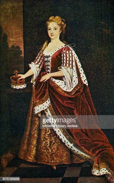 Portrait of Caroline of Ansbach Queen-consort of Great Britain. Dated 18th Century.