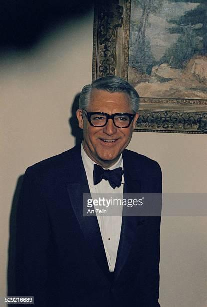 Portrait of Cary Grant circa 1970 New York