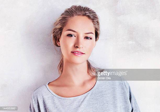 Portrait of casual young woman