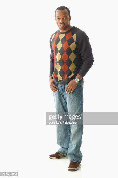 Portrait of casually dressed man