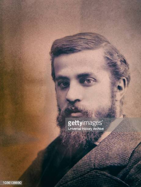Portrait of Catalan architect Antoni Gaudi 18521926