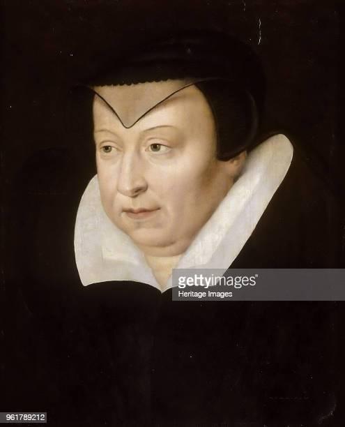Portrait of Catherine de' Medici , circirca 1580. Found in the Collection of Musée du Louvre, Paris.