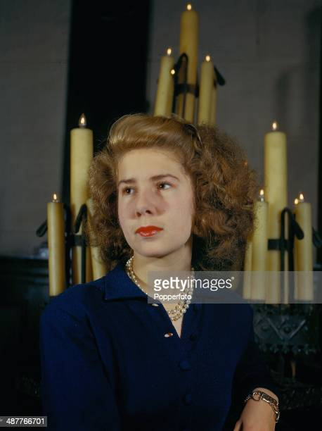 1945 Portrait of Cayetana FitzJames Stuart 18th Duchess of Alba England January 1945
