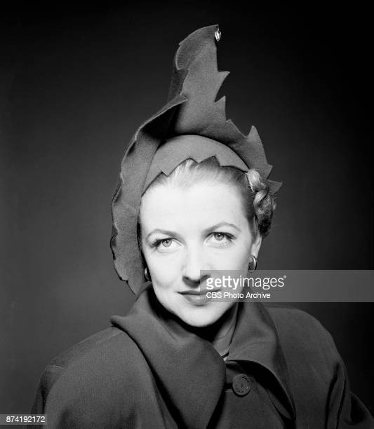 Portrait of CBS Radio actress Betty Furness. Image dated July 26, 1949.