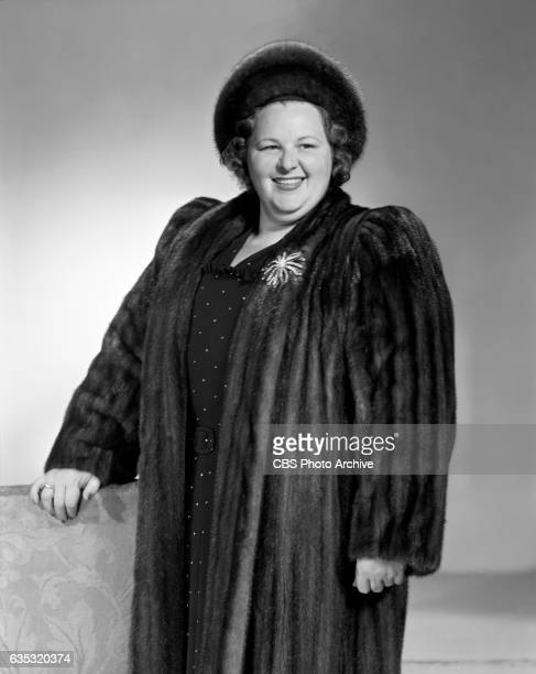 Portrait of CBS Radio personality and singer Kate Smith Image dated March 1 1941 New York NY