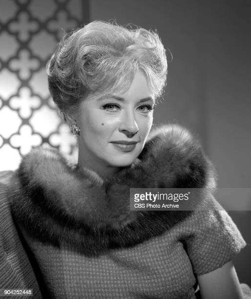 Portrait of CBS television actress Amanda Blake She portrays Miss Kitty on the western series Gunsmoke March 12 1964