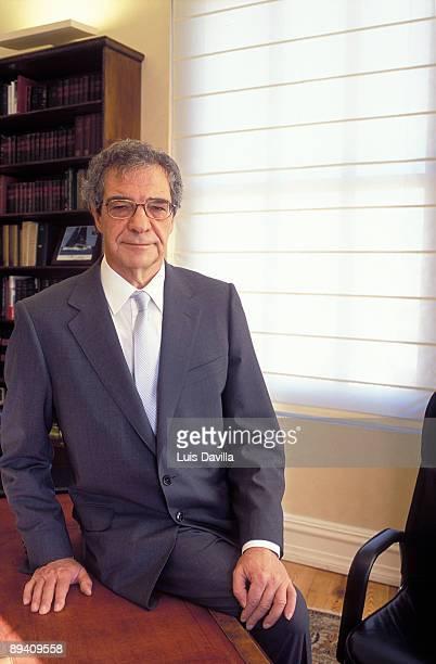 Portrait of Cesar Alierta, Telefonica president.