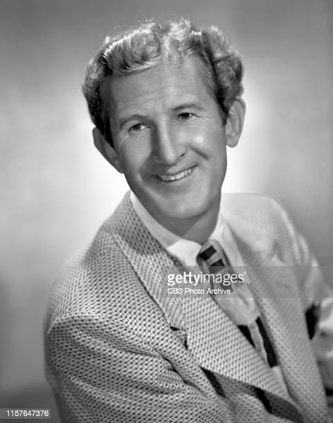 Portrait of character actor Doodles Weaver, cast member on the CBS Radio musical program, The Spike Jones Show. Hollywood, CA. August 23, 1948.