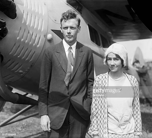 Portrait of Charles and Anne Lindbergh