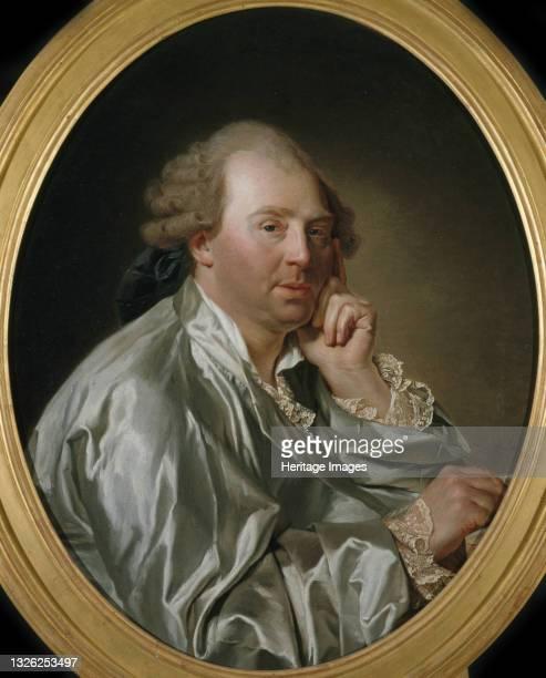 Portrait of Charles Claude Flahaut de La Billarderie, comte d'Angiviller , ca 1771. Found in the collection of Musée Carnavalet, Paris. Artist Aubry,...