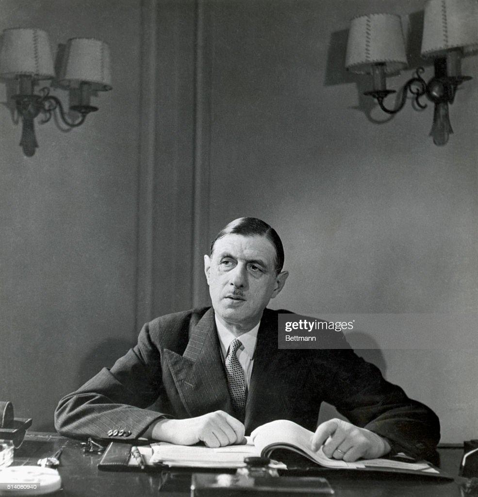 Charles de Gaulle : ニュース写真