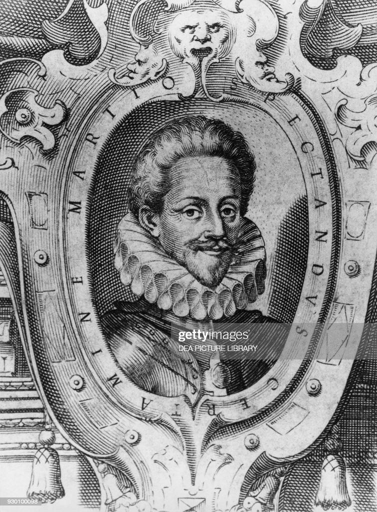 Charles Emmanuel I the Great, illustration, Genoa : News Photo