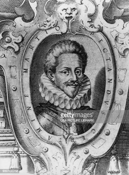 Portrait of Charles Emmanuel I the Great nicknamed Testa d'Feu Duke of Savoy from 1580 to 1630 and Marquis of Saluzzo from 1588 illustration by...