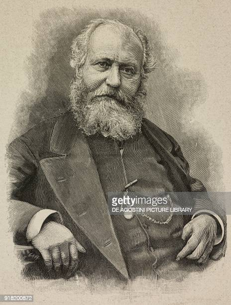 Portrait of Charles Gounod French composer engraving by Cantagalli after a photo by Guigoni Bossi from L'Illustrazione Italiana Year XX No 43 October...
