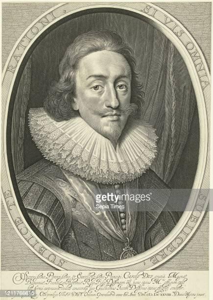 Portrait of Charles I king of England in oval Willem Jacobsz Delff Karel I Cornelis Jacobsz Delff 1628