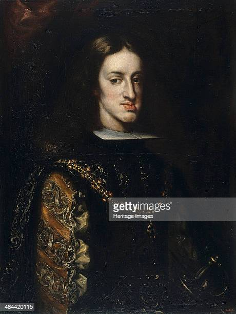 Portrait of Charles II of Spain, 1680-1683. Found in the collection of the Museu Nacional d'Art de Catalunya, Barcelona.