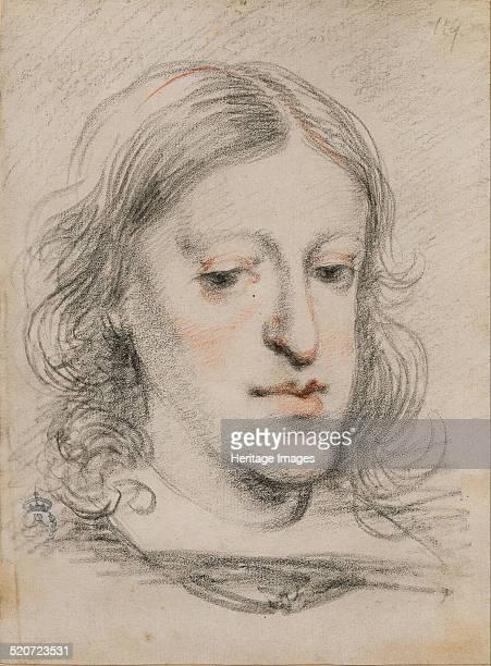 Portrait of Charles II of Spain. Found in the collection of Real Academia de Bellas Artes de San Fernando, Madrid.