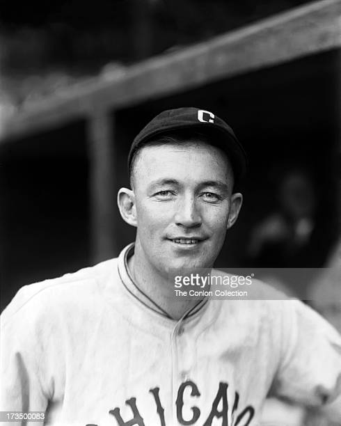 A portrait of Charles L Hartnett of the Chicago Cubs in 1926