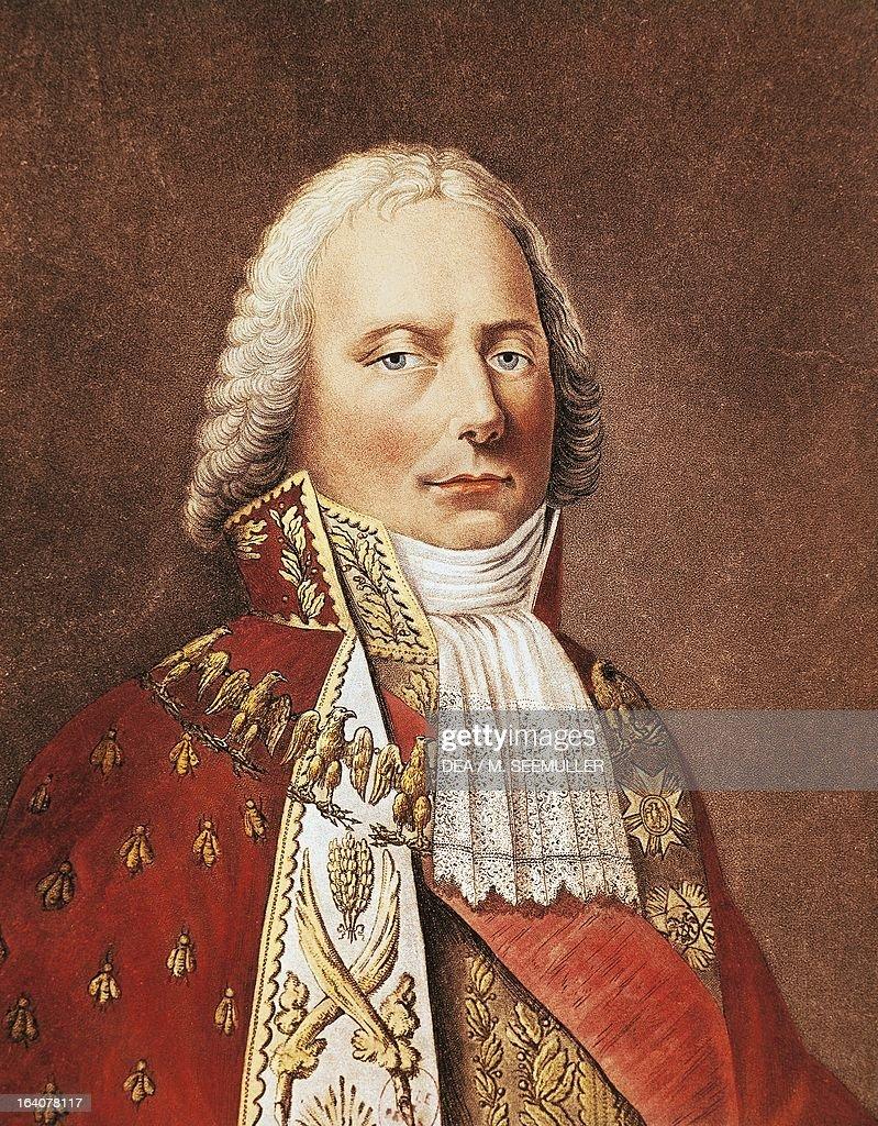 Portrait of Charles Maurice De Talleyrand... : Photo d'actualité