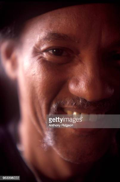 Portrait of Charles Neville of The Neville Brothers, in San Francisco, California, USA 1997.
