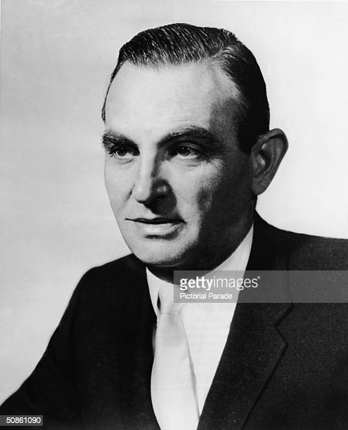 Portrait of Charles Revson the founder and head of cosmetics giant Revlon 1960