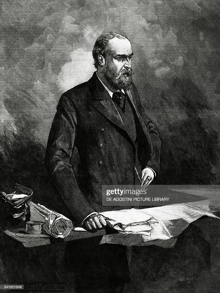 Portrait of Charles Stewart Parnell... : News Photo
