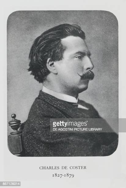 Portrait of Charles Theodore Henri De Coster Belgian writer photograph