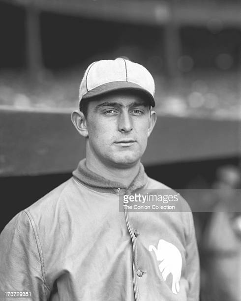 A portrait of Charles W Willis of the Philadelphia Athletics in 1927