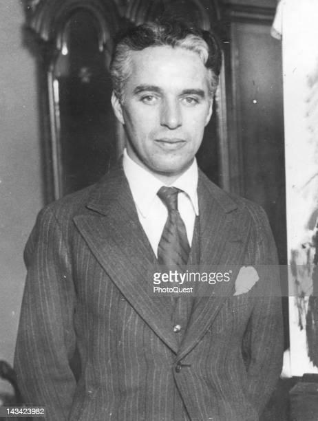 Portrait of Charlie Chaplin twentieth century